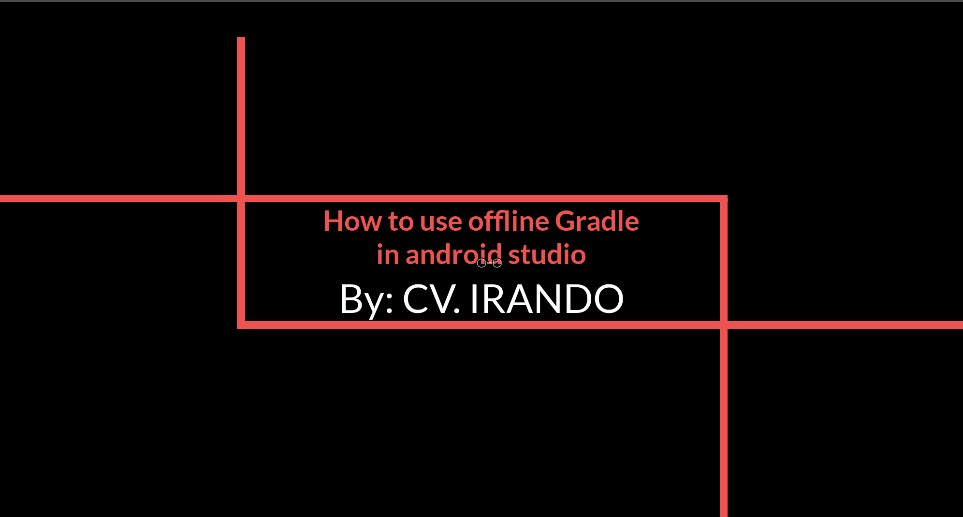 How to use offline Gradle in android studio