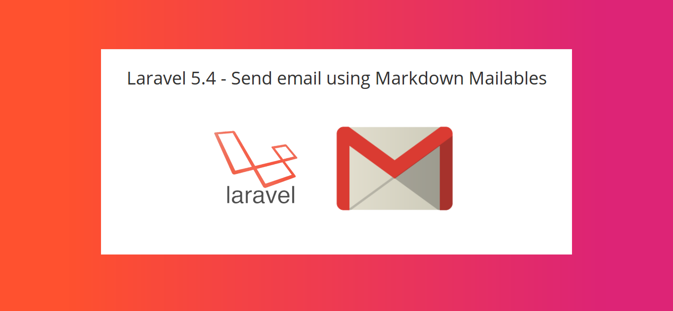 Laravel env Mail configuration