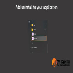 Add uninstall to your windows application