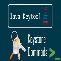 How to use keytool on Windows OS